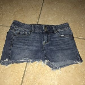 American Eagle Jean Cut off Shorts Size 2